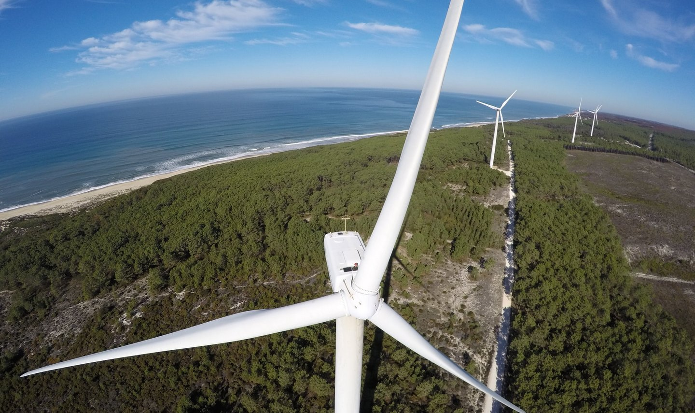 Elektrownia wiatrowa. Fot. Joel Reis/Unsplash