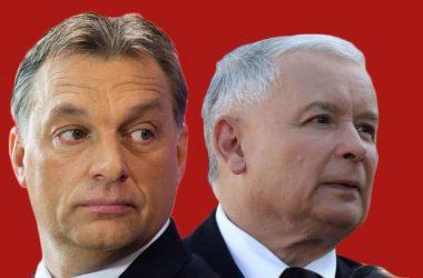 Jarosław Kaczyński i Viktor Orbán. Fot. Wikimedia Commons