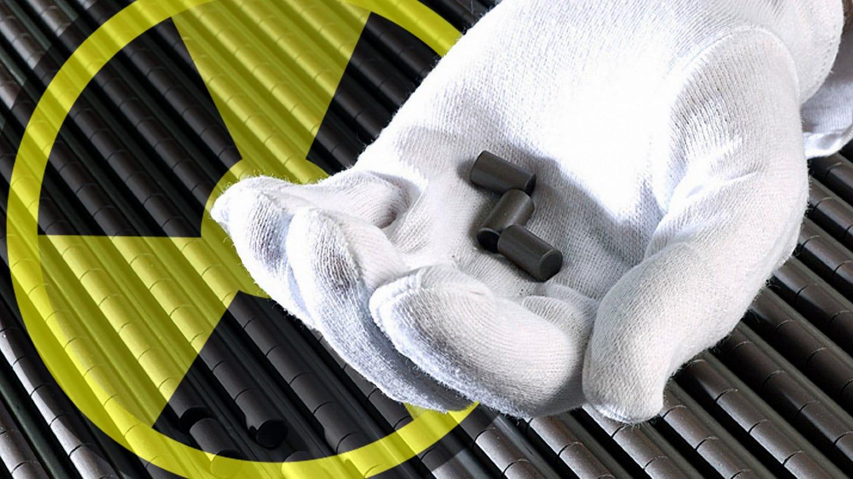 Paliwo jądrowe w postaci prętów. Fot. Nuclear Regulatory Commission/Flickr.com