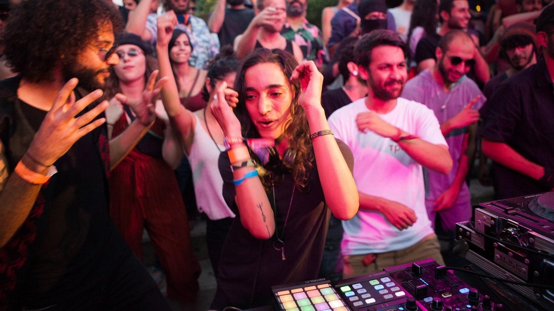 DJ Sama Abdulhad Fot. Palestine Music Expo/Nayef