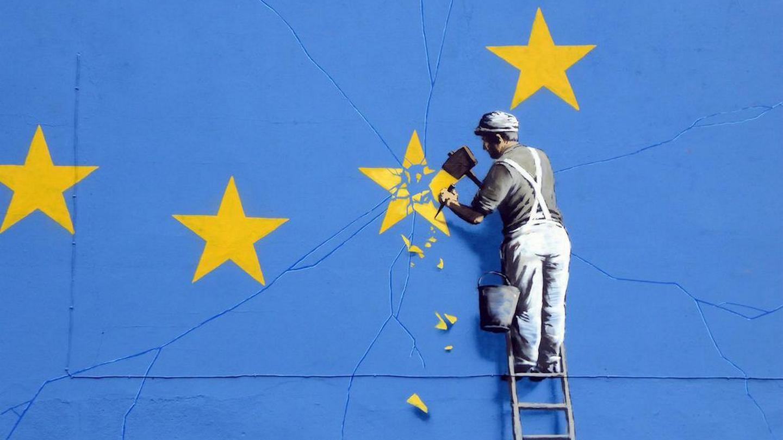Mural Banksy'ego w Dover Fot. Dunk/Flickr.com