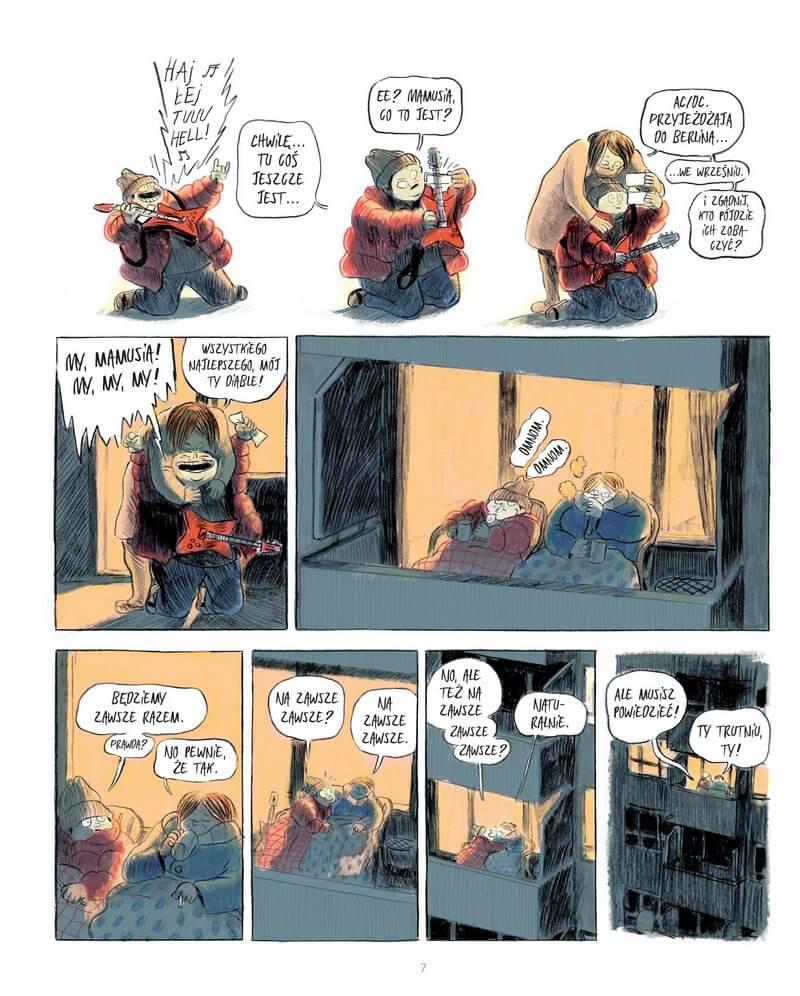 Upadek komiks plansza