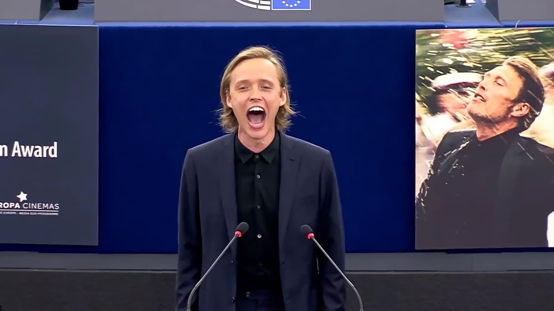 Bartosz Bielenia w Parlamencie Europejskim
