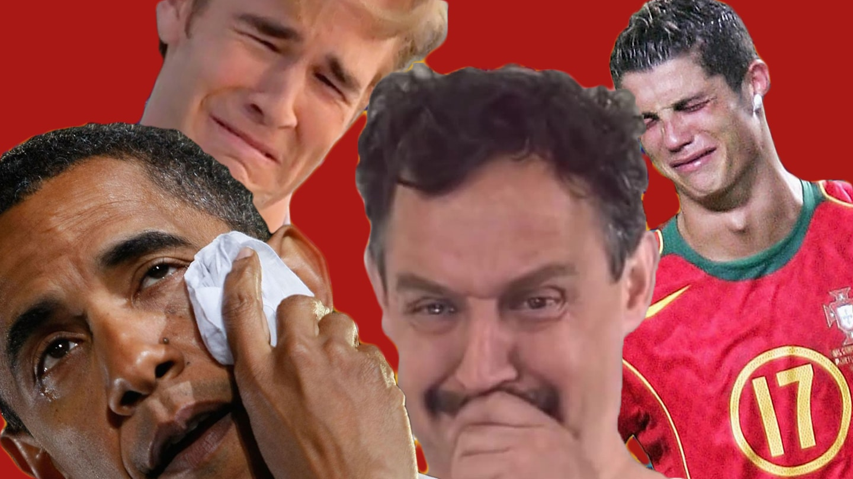 Chłopaki płaczą