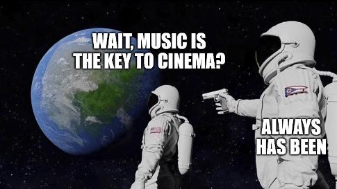 Mem z astronautą 1