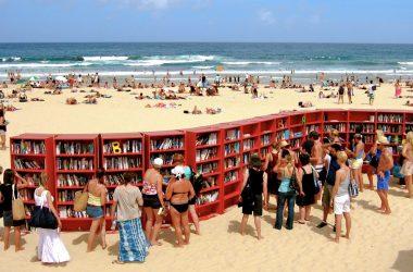 Książki wakacje plaża