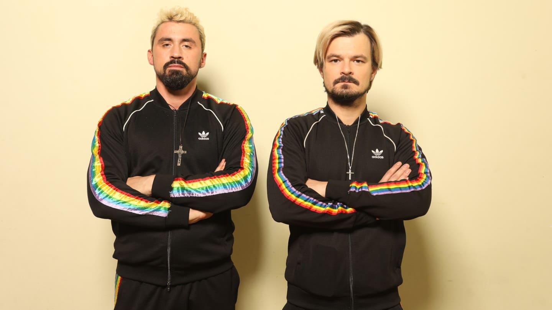 Daniel Rycharski i Dawid Ogrodnik